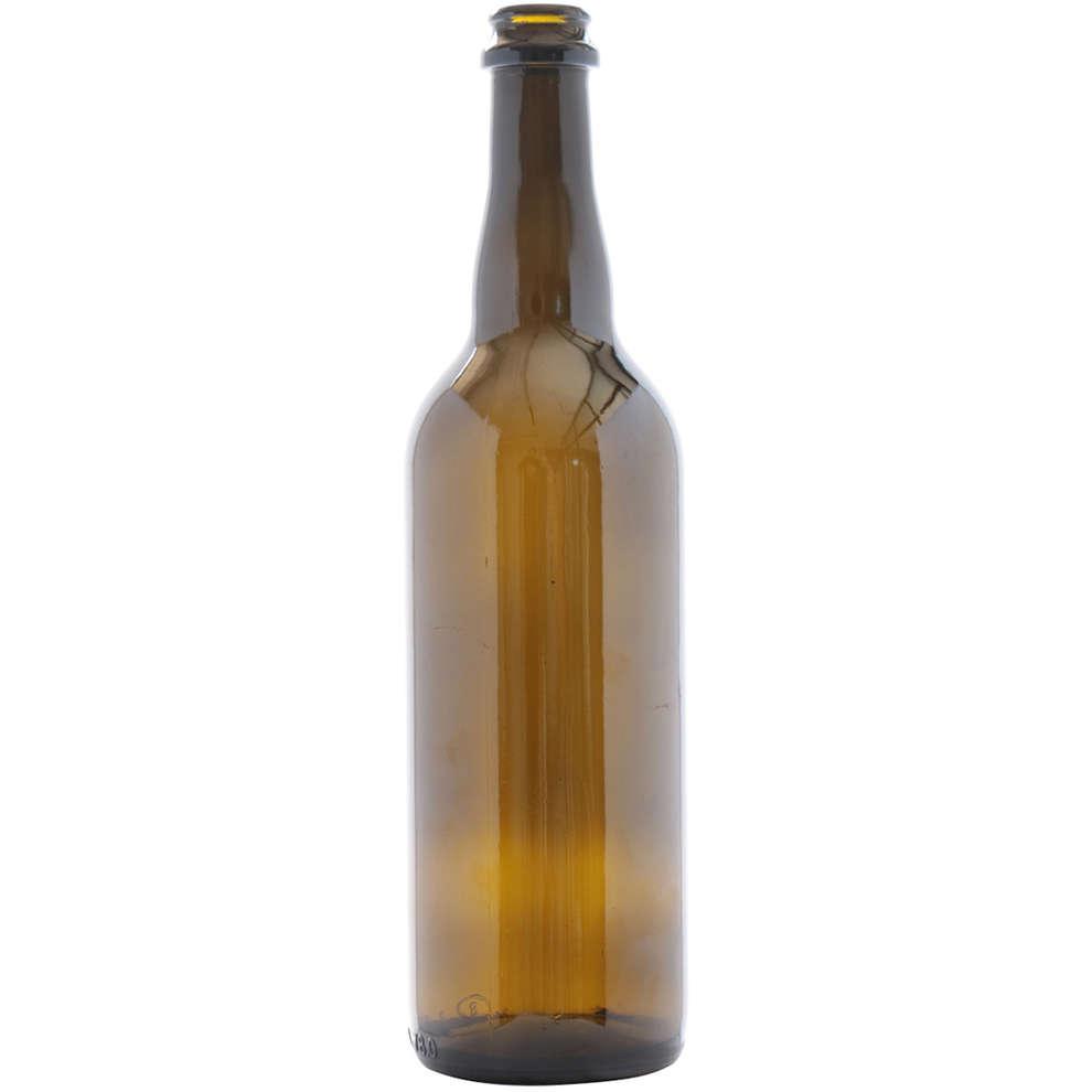 Botella para cerveza de 75 cl Trento (20 PC)