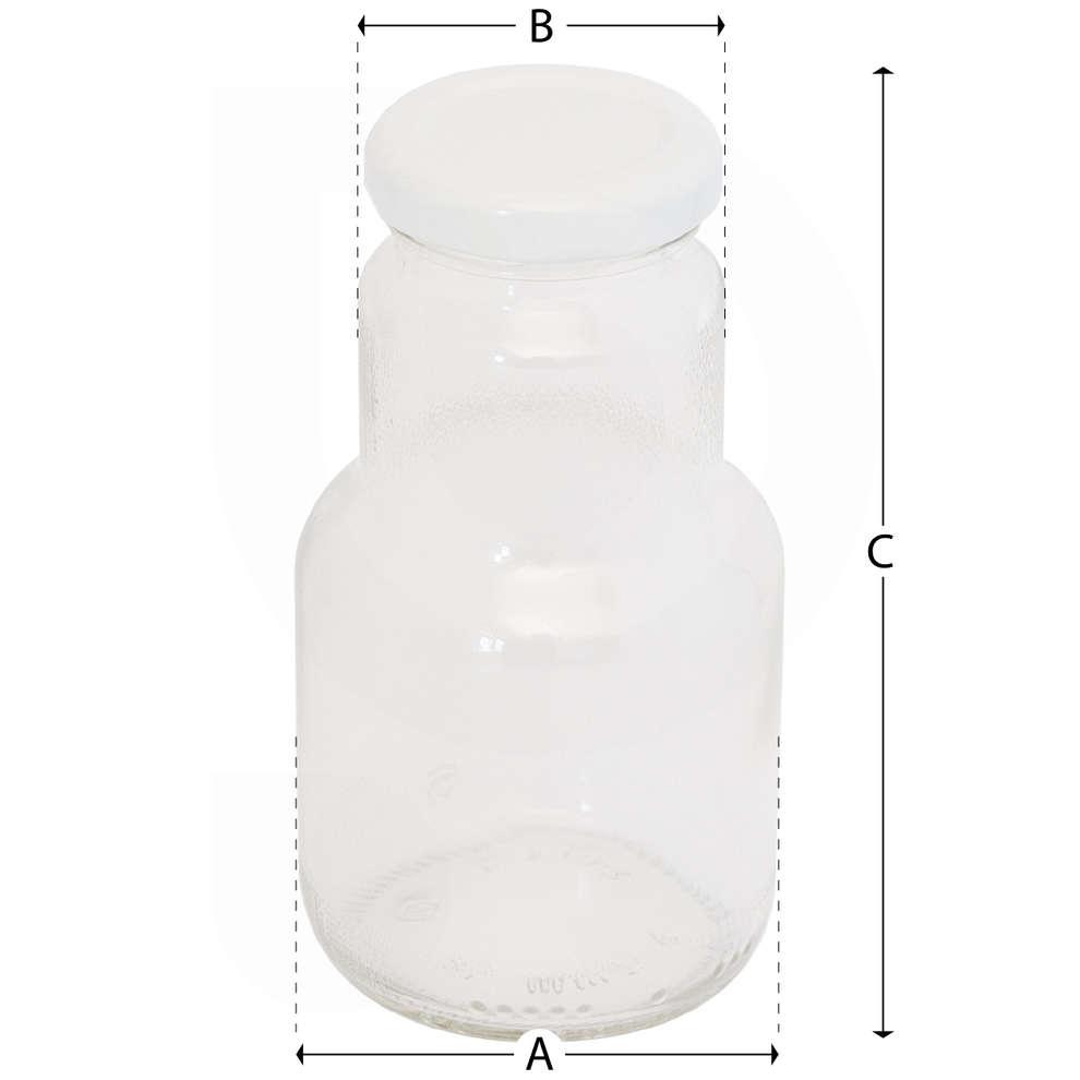 Bottiglia Succo di frutta 200 mL con tappo (35 pz)