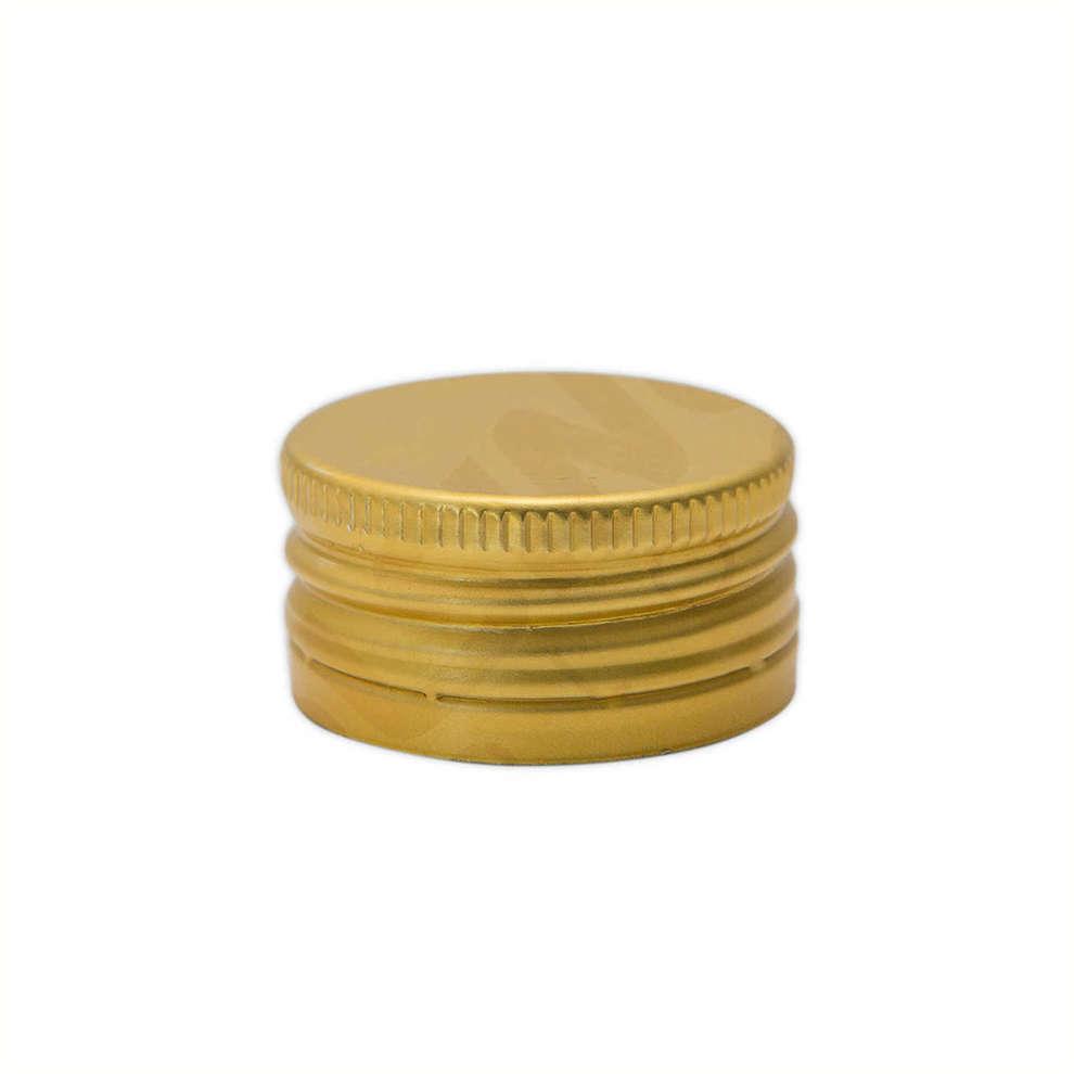 Bouchon à vis pré-fileté doré ⌀18 (100 pcs)
