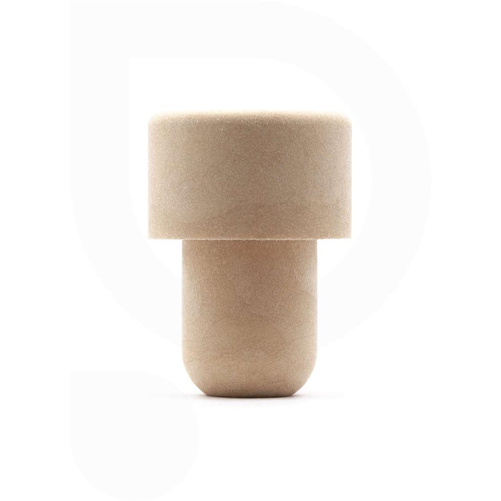 Bouchon champignon synthétique ⌀18 (100 pcs)