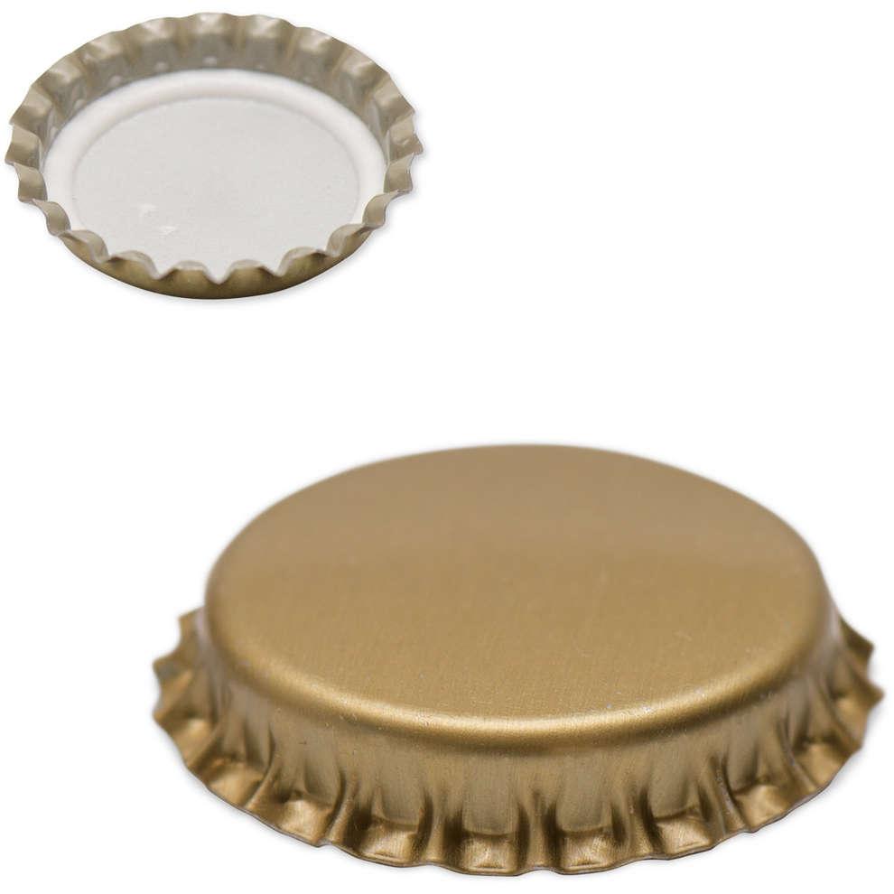 Bouchon couronne doré ⌀26 (100 pcs)