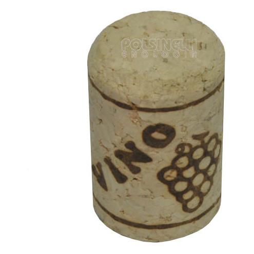Bouchon en liège aggloméré 24x38 (100 pcs)