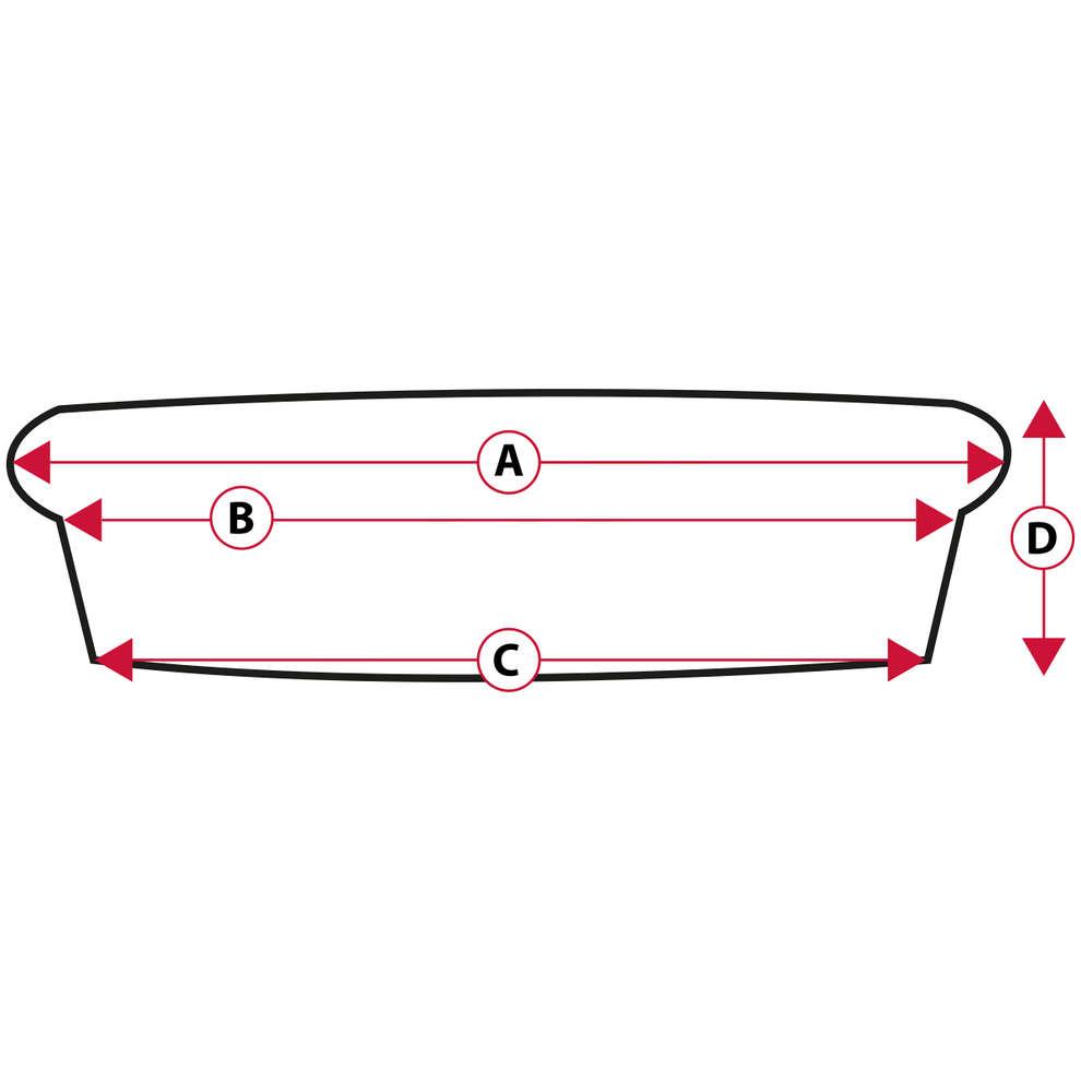 Bouchon en liège aggloméré pour bocaux ⌀110 (2 pcs)