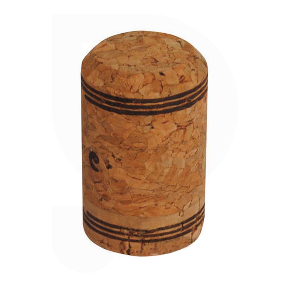 Bouchon en liège aggloméré pour vins mousseux 29,5x47 (100 pcs)