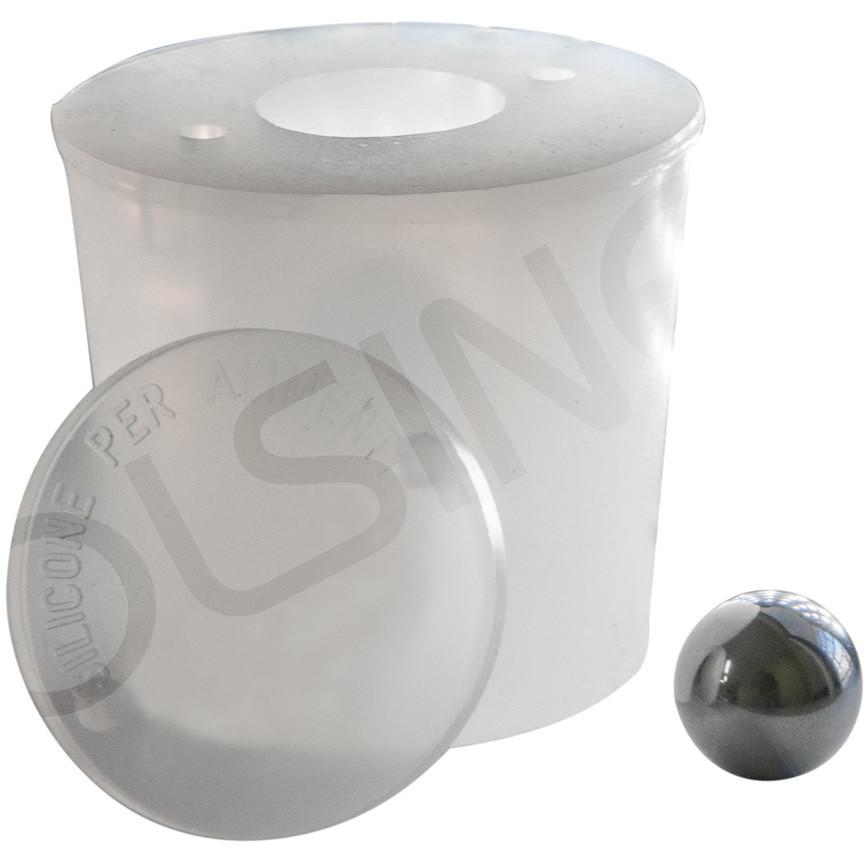 Bouchon en silicone avec trou d'évacuation