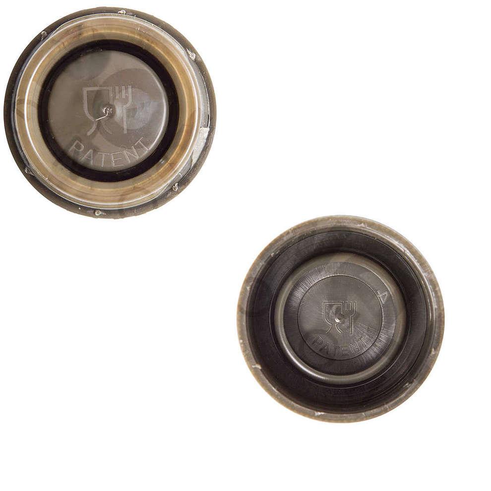 Bouchons non rechargeables vert ø 31  (50 pcs)