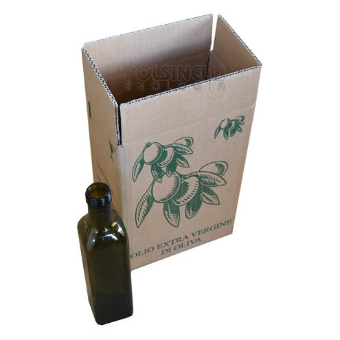 Box for 6 Marasca bottles of 500 mL (10 pieces)