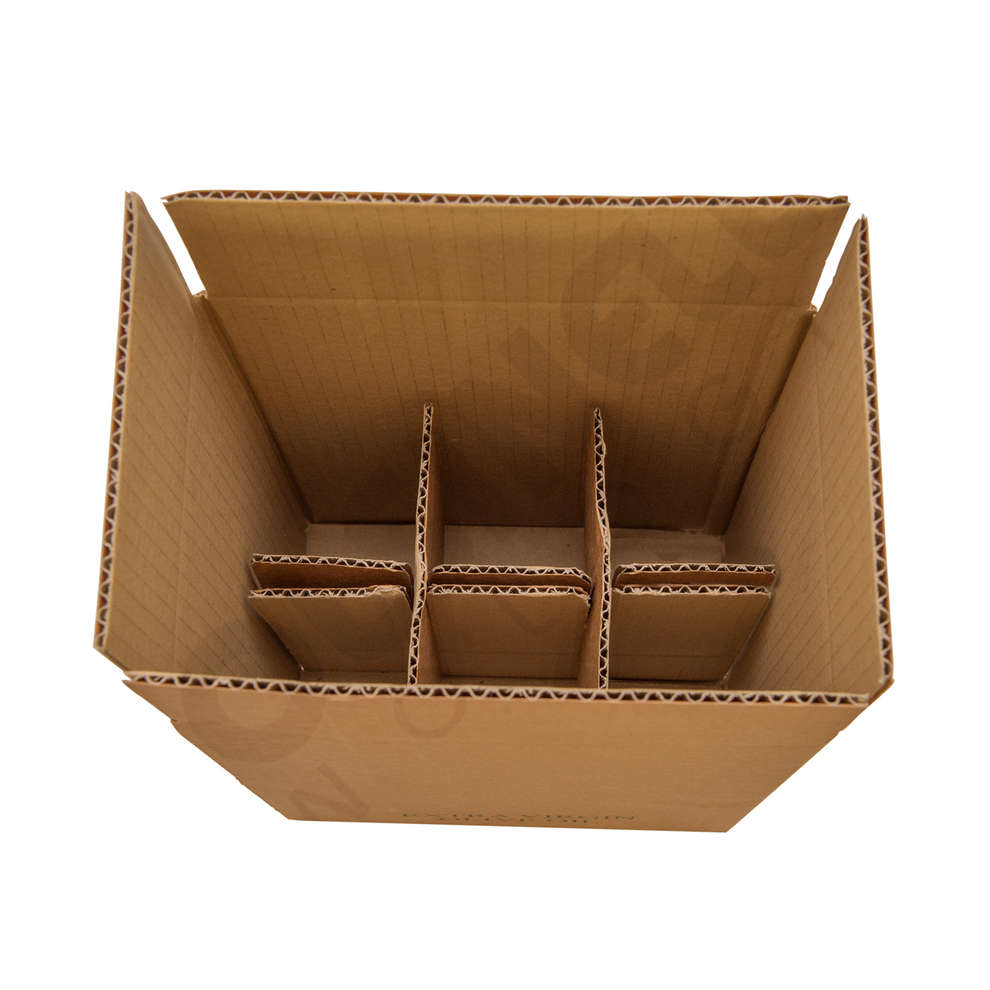 Box for 6 Marasca bottles of 750 mL (10 pieces)