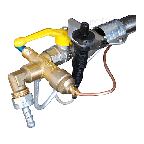 Brûleur gaz inox 26 kW PSP Ø 56