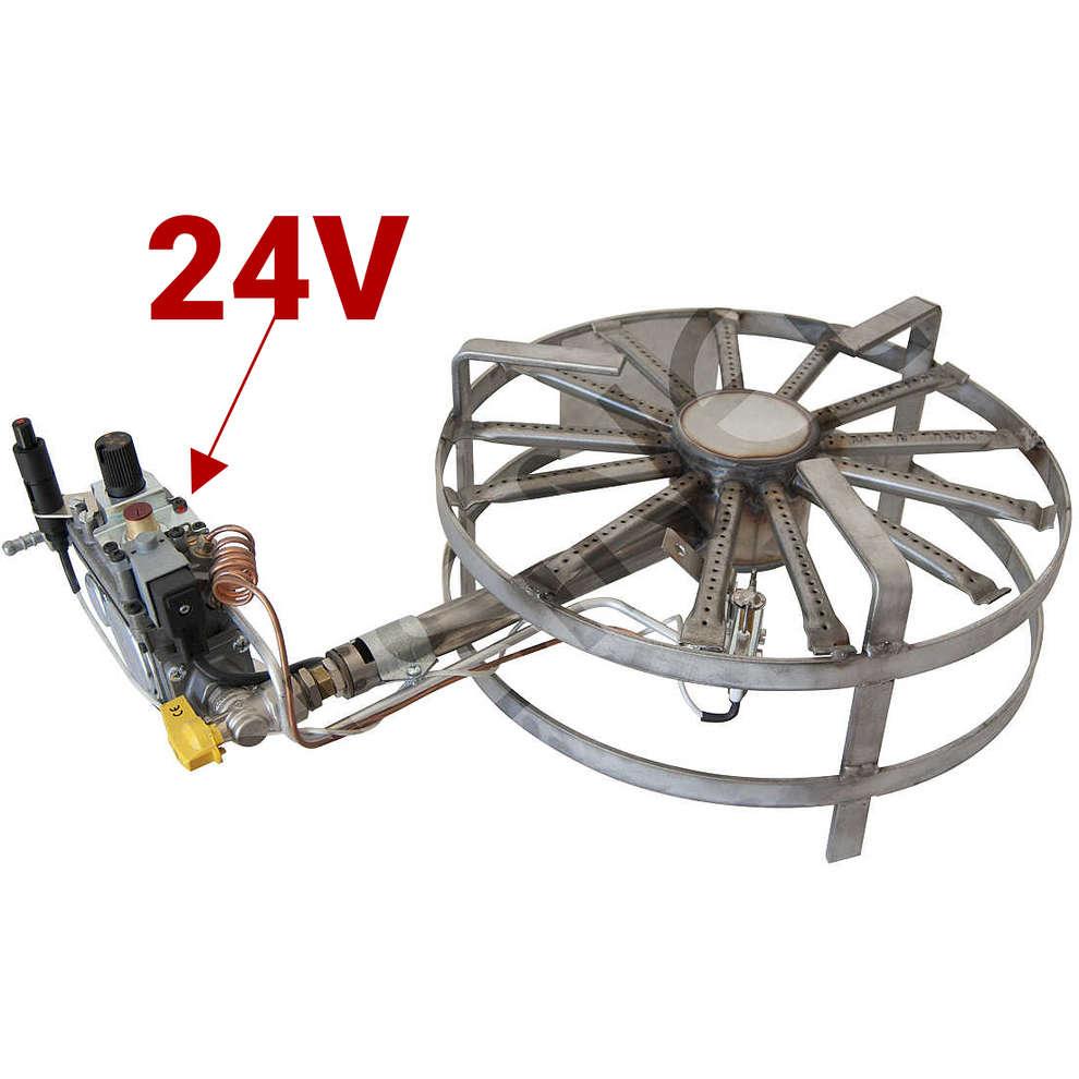 Brûleur gaz inox 8 kW ⌀40 PSPEV GPL