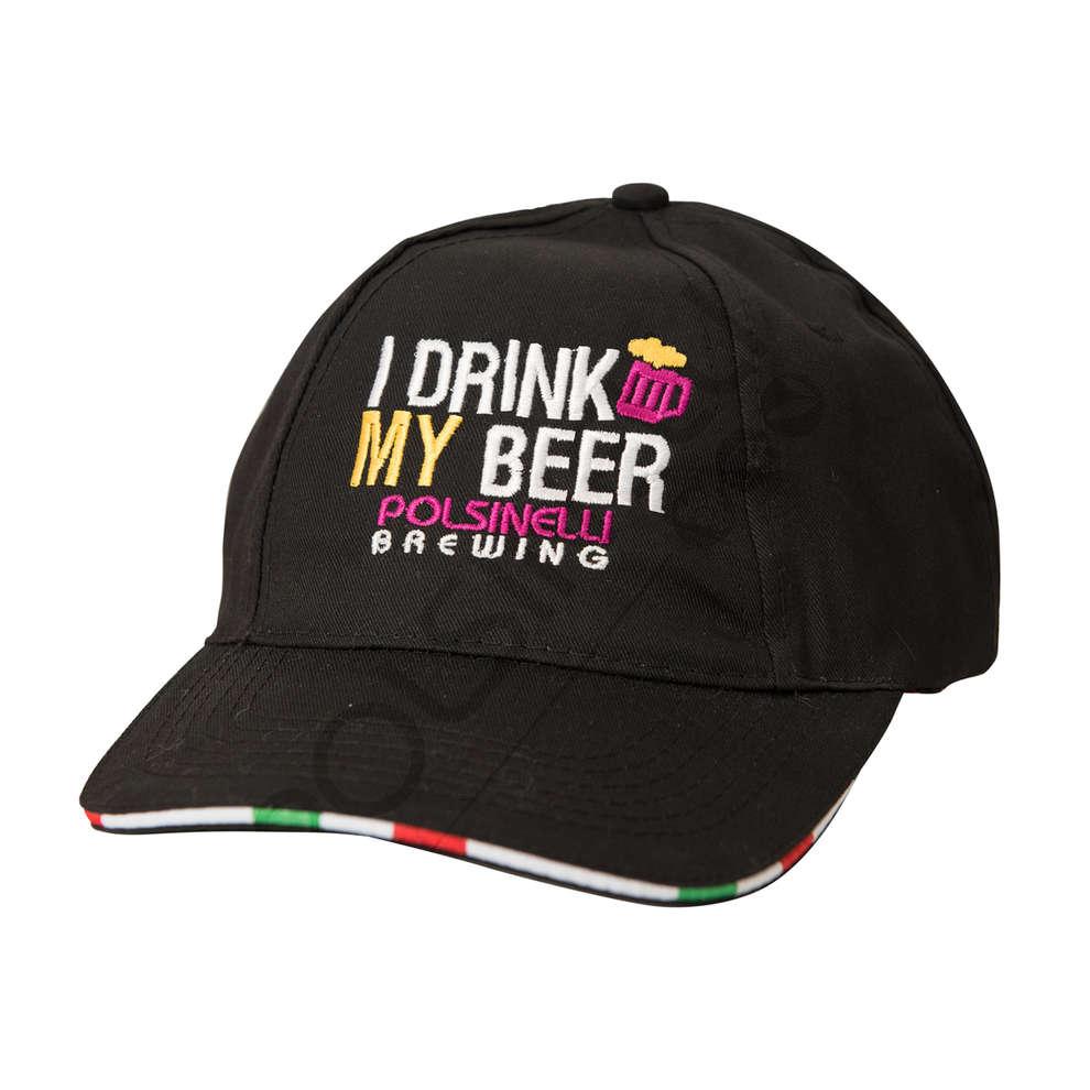 Brasserie chapeau noir