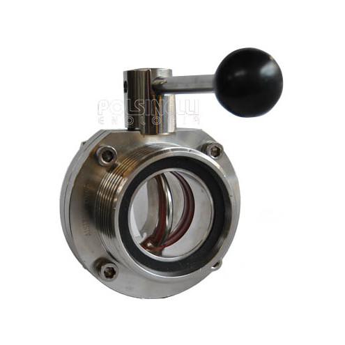 Butterfly valve steel DIN 50
