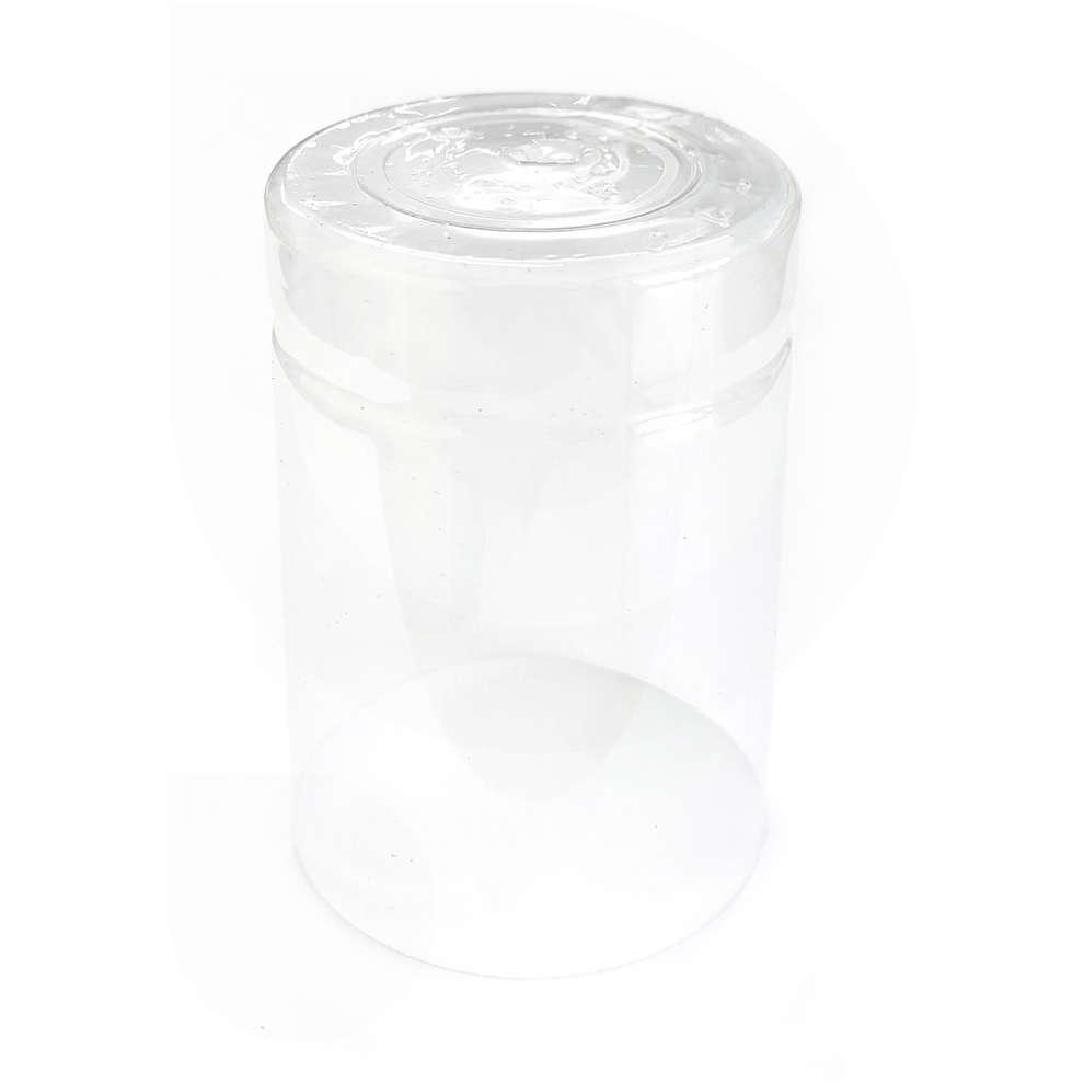 Cápsula de PVC transparente ⌀36 (100 pzas)