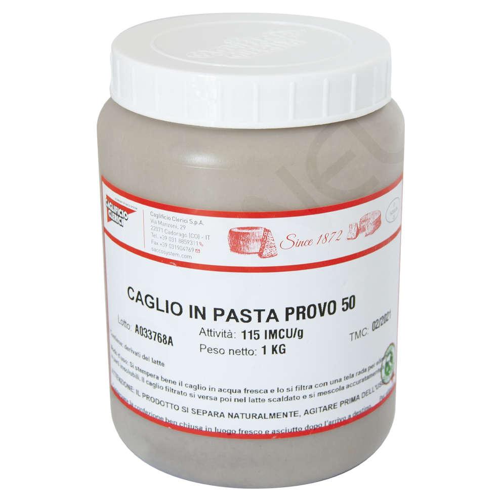 CAGLIO IN PASTA SOLUBILE PROVO 50 IMCU 115 (1 kg)