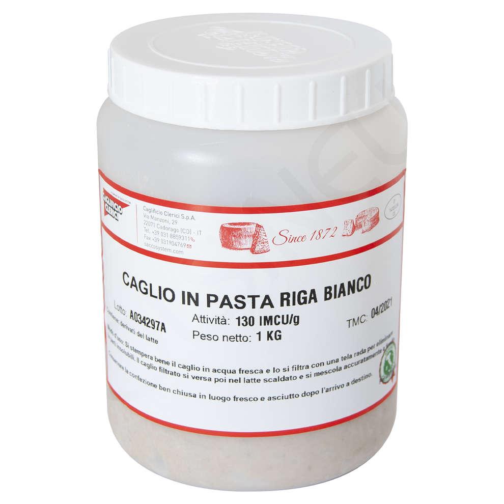 CAGLIO IN PASTA TRADIZIONALE RIGA BIANCO SAPORITO IMCU 130 (1 Kg)