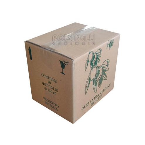 Caja para 20 botellas Marasca de 250 mL (10 unid.)