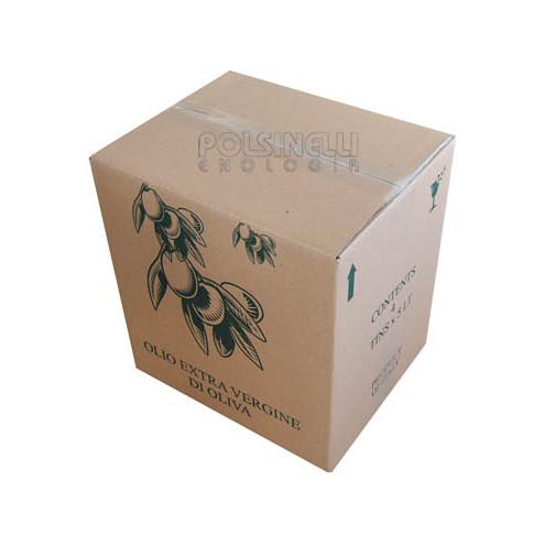 Caja para 4 latas de aceite de 5 L (10 unid.)