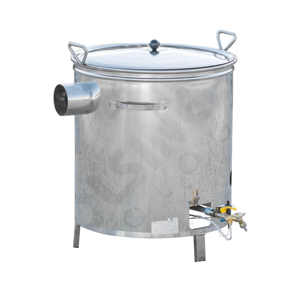 Caldera inox a gas 35 L