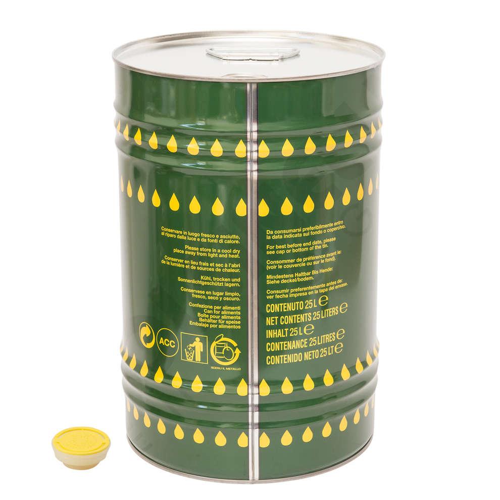 Canette pour huile 25 L (42 pcs)