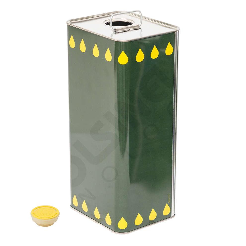 Canette pour huile 5 L (12 pcs)