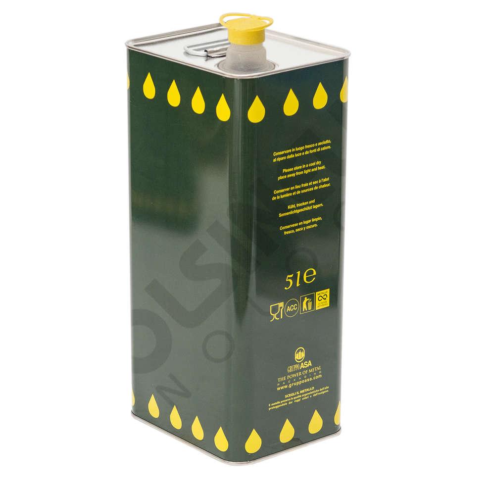 Canette pour huile 5 L (288 pcs)