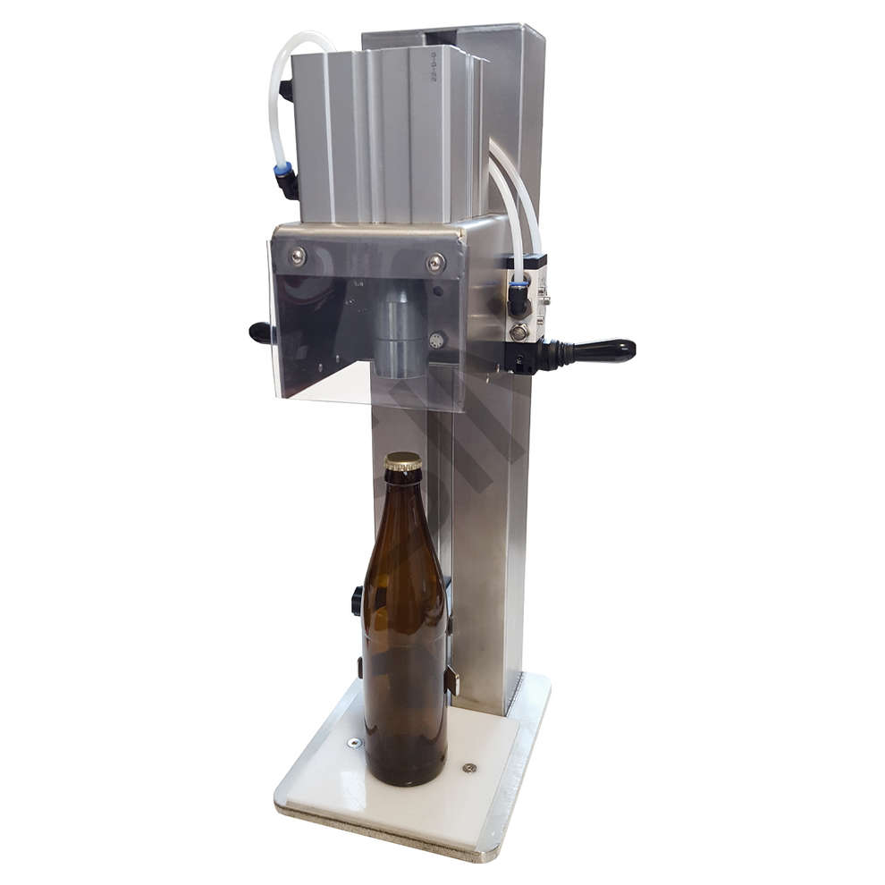Capping machine crown cap