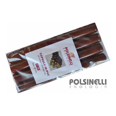 Capsula in PVC bordeaux ⌀31 (100 pz)
