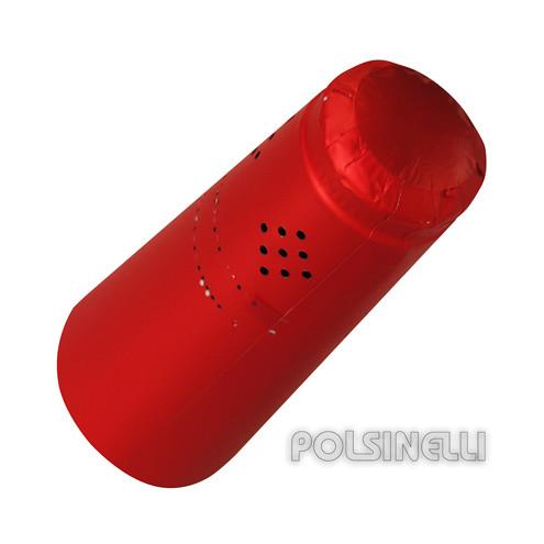 Capsule en polilaminé rouge (25 pcs)