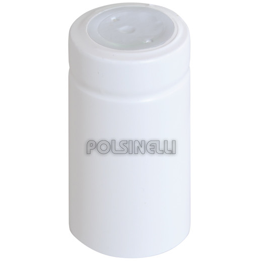 Capsule en PVC blanche ⌀31 (100 pcs)
