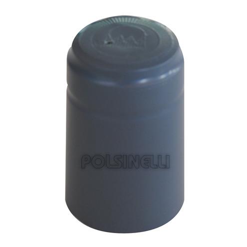 Capsule en PVC grise ⌀30 (100 pcs)