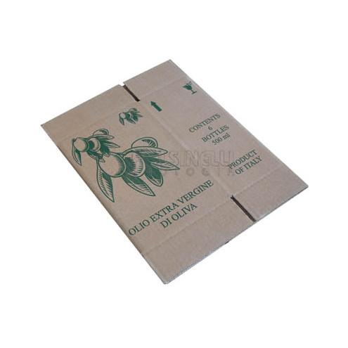 Carton pour 6 bouteilles Marascas 500 mL (10 pcs)