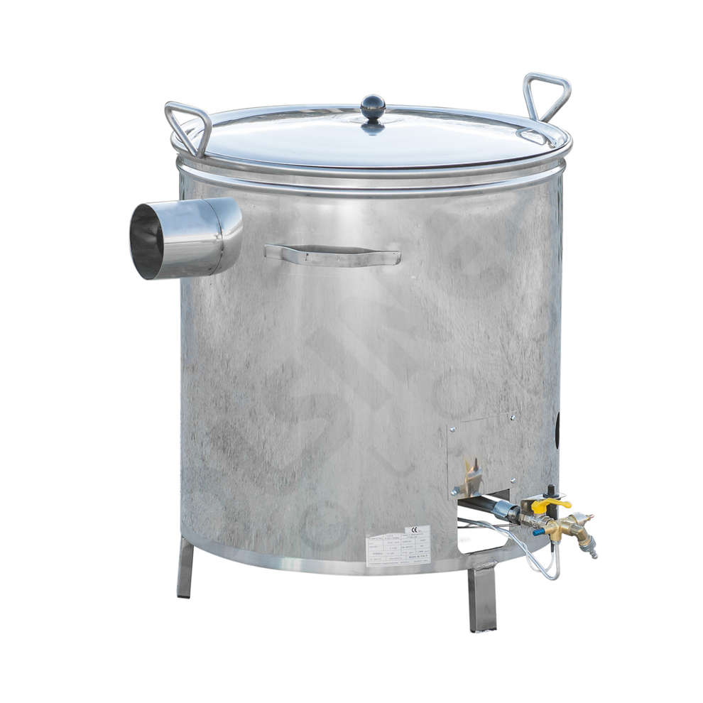 Chaudron à gaz inox 35 L