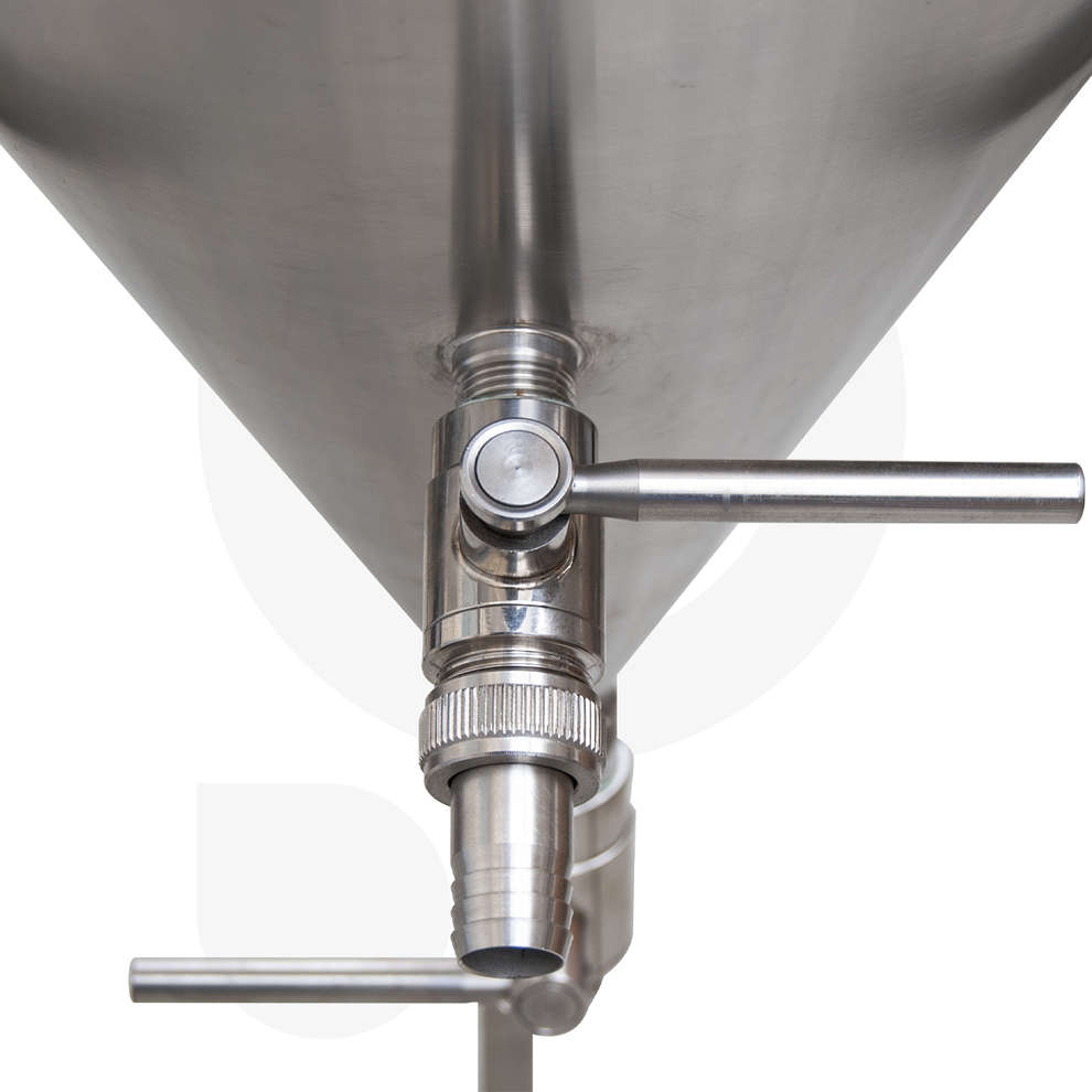 Conical trunk beer fermenter 60° 200 L