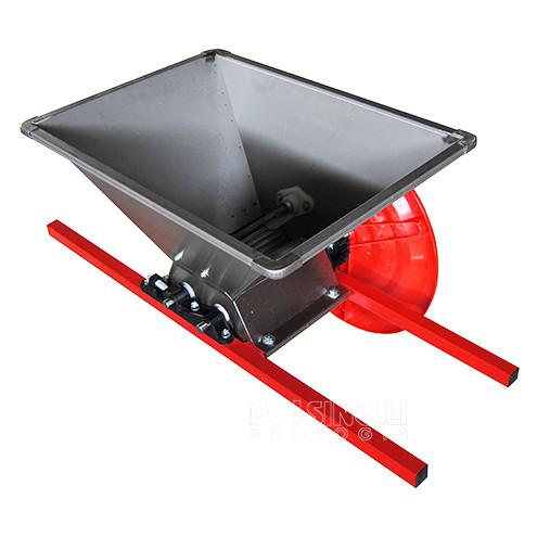 Crusher type B steel hopper