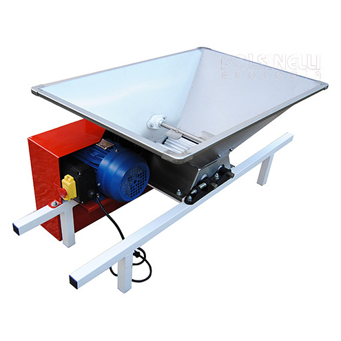 Crusher type D with stainless steel hopper