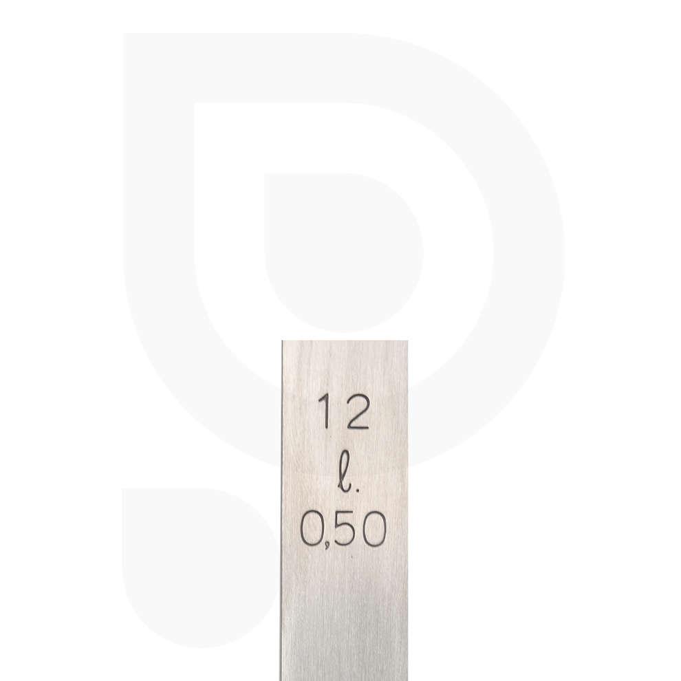 Cucharon de acero inoxidable ∅12 - Lt 0,5
