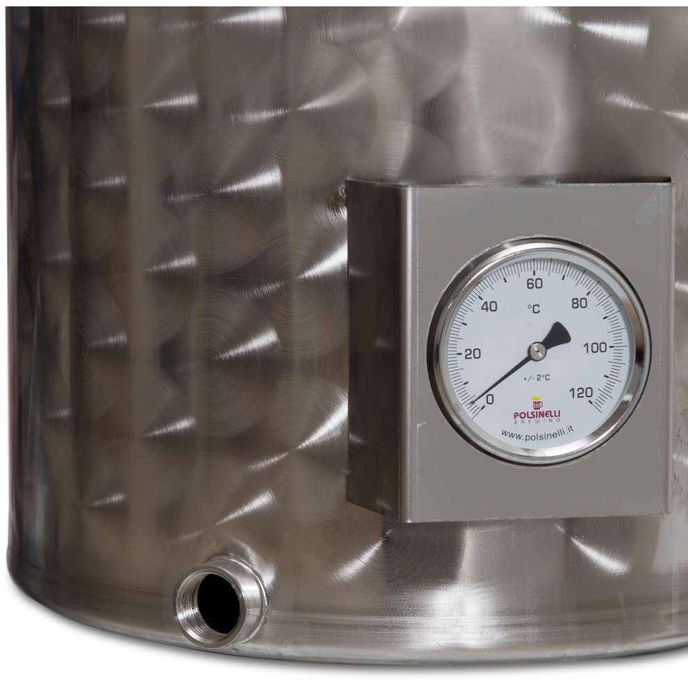 Cuve de brassage inox 100 L