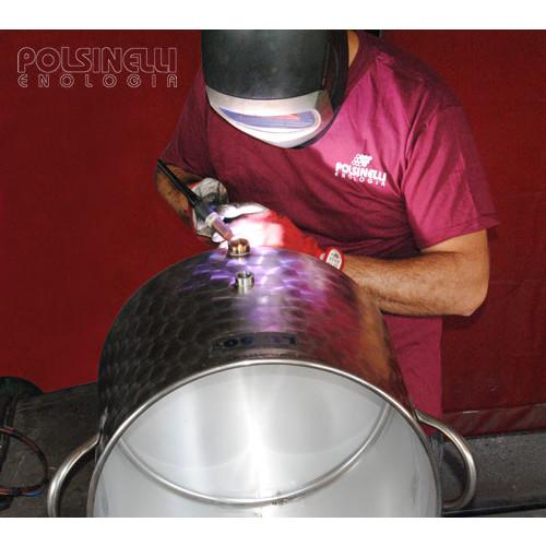 Cuve de brassage inox 150 L