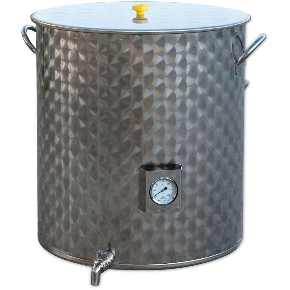 Cuve de brassage inox 200 L