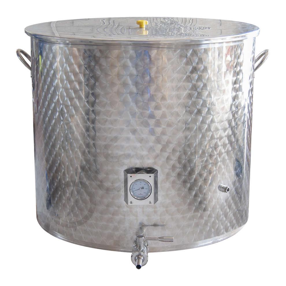 Cuve de brassage inox 500 L