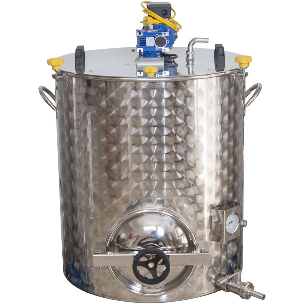 Cuve de brassage motorisée 300 L