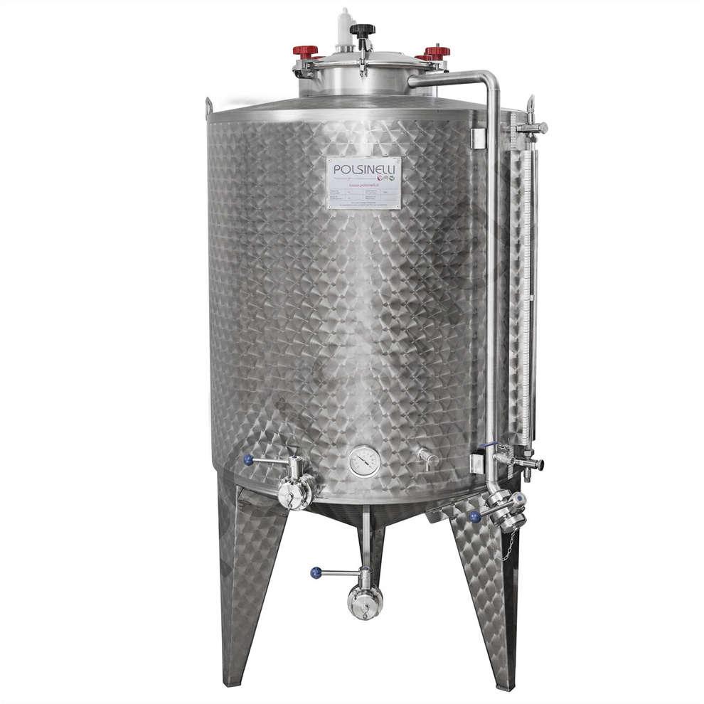 Cuve de fermentation à fond conique 1150 L