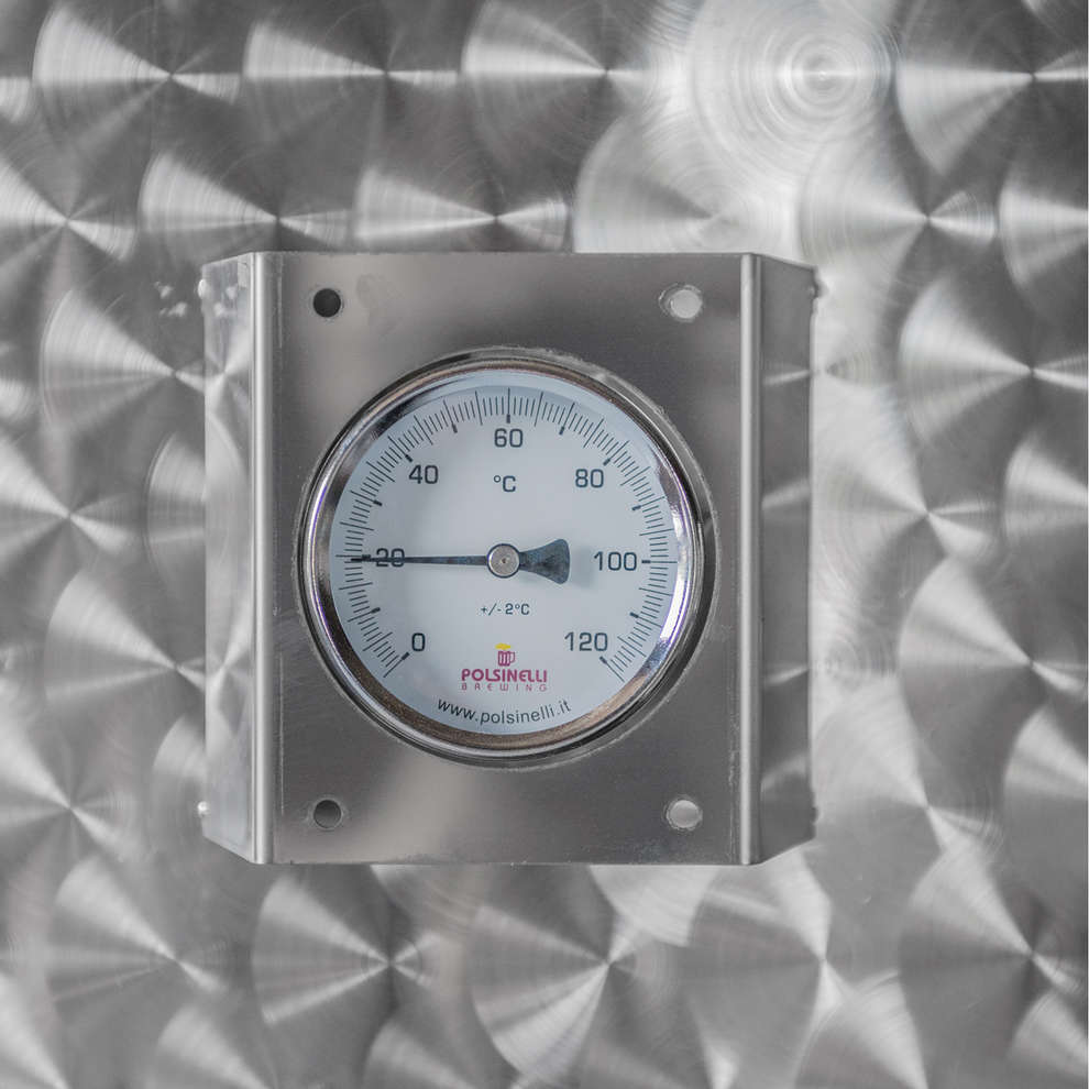 Cuve de stockage inox réfrigérée 1500 L