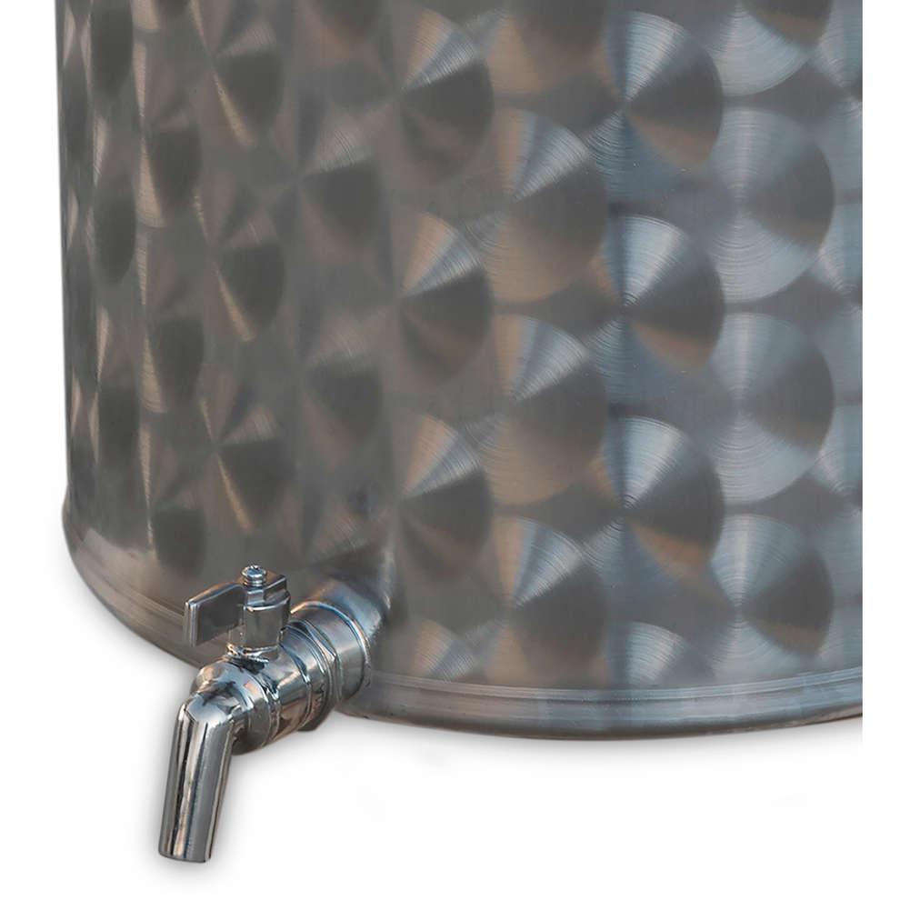 cuve inox 25 L avec robinet