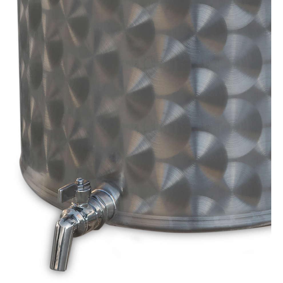 cuve inox 75 L avec robinet