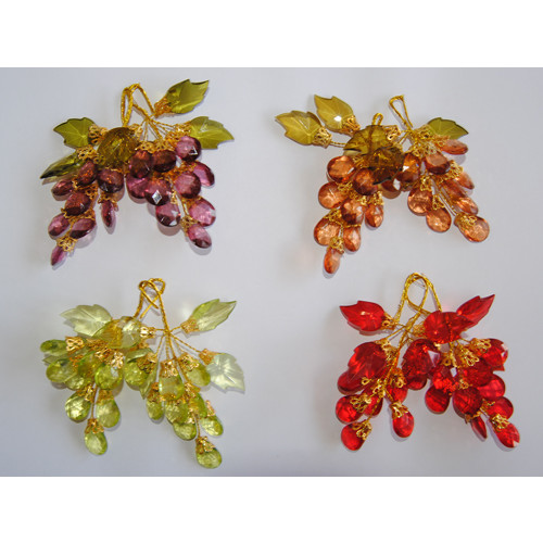Decoration diamond grapes (2 pcs)