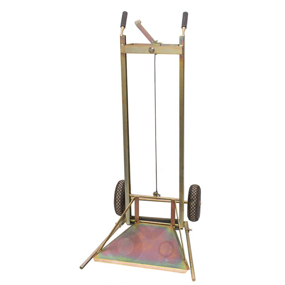 Demijohn lift trolley