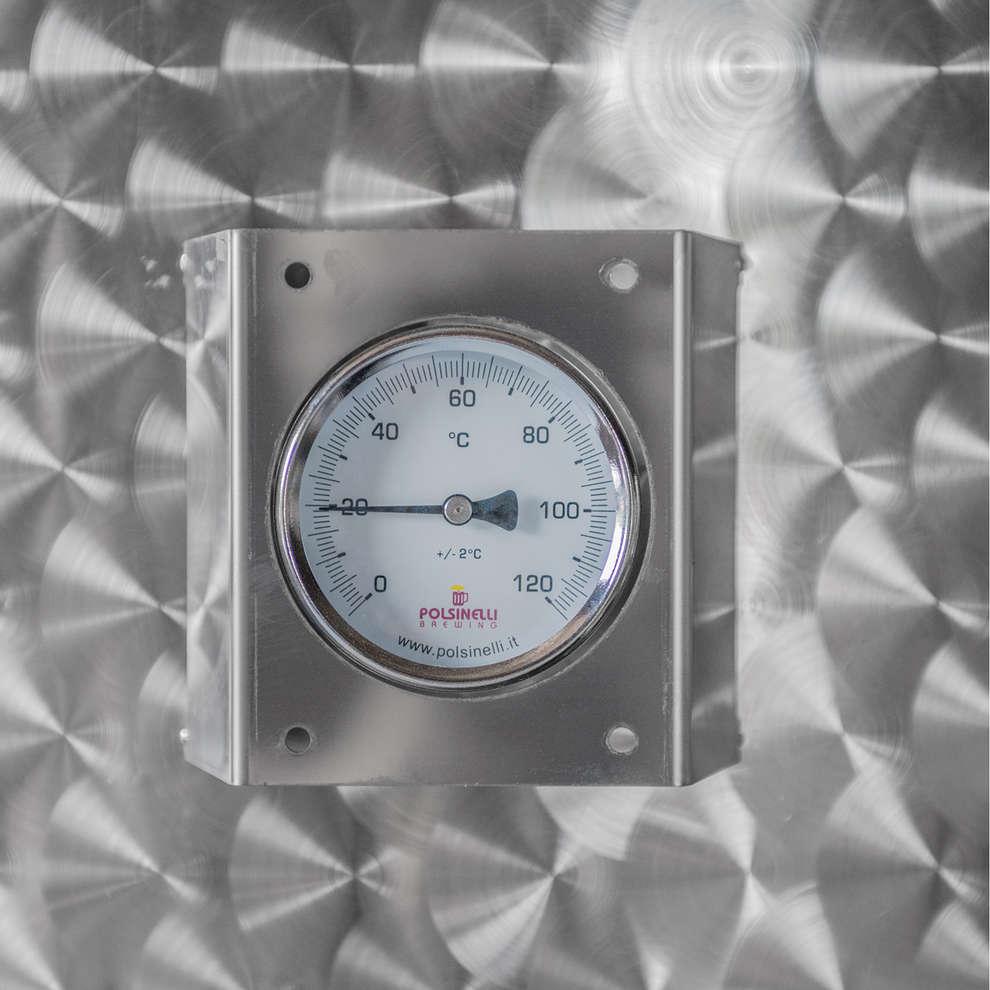 Depósito  de acero inox refrigerado de almacenamiento 1500 L