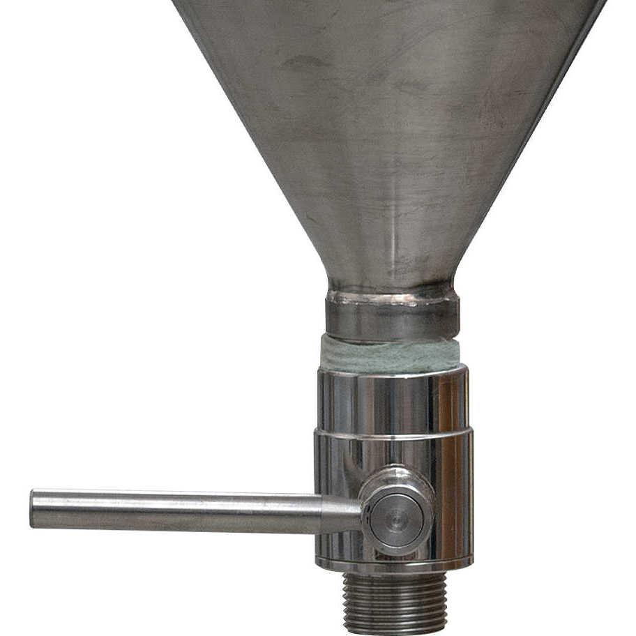 Depósito para aceite tronco cónico 60° 100 L flotador a aire