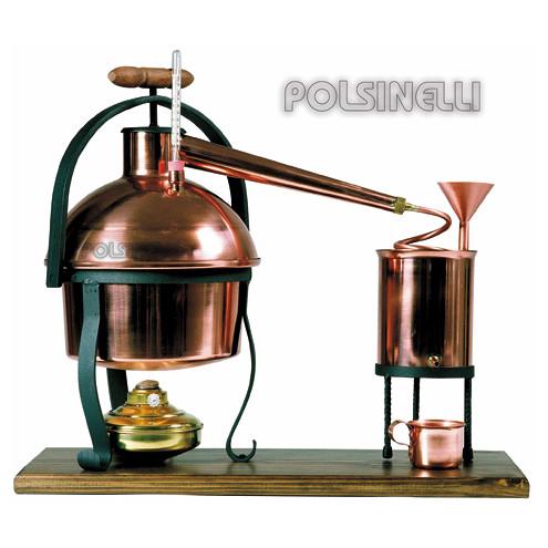 Destilador de cobre